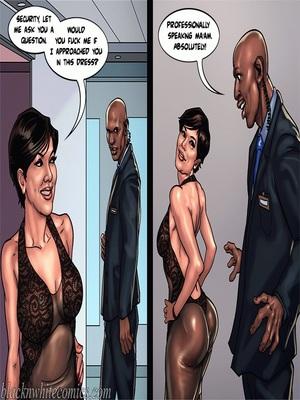 Interracial Comics BlacknWhite-The KarASSians the Next Generation Porn Comic 54