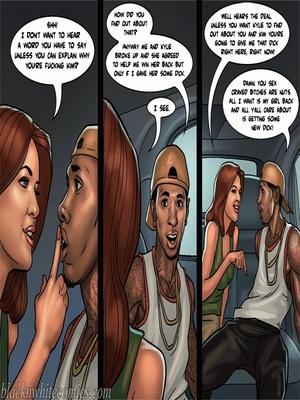 Interracial Comics BlacknWhite-The KarASSians the Next Generation Porn Comic 64