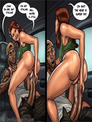 Interracial Comics BlacknWhite-The KarASSians the Next Generation Porn Comic 67