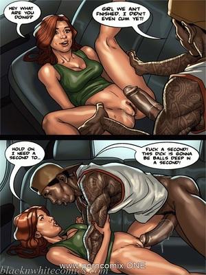 Interracial Comics BlacknWhite-The KarASSians the Next Generation Porn Comic 72