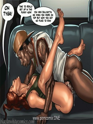 Interracial : BlacknWhite-The KarASSians the Next Generation Porn Comic