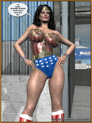 3D Porn Comics Bondage WW vs ArmDealers- Wonder Woman Porn Comic 04
