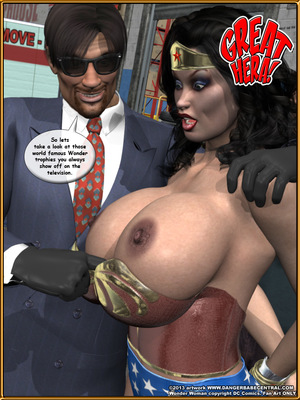 3D Porn Comics Bondage WW vs ArmDealers- Wonder Woman Porn Comic 14