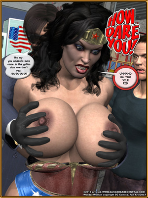 3D Porn Comics Bondage WW vs ArmDealers- Wonder Woman Porn Comic 15