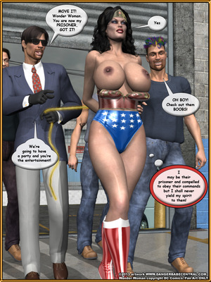 3D Porn Comics Bondage WW vs ArmDealers- Wonder Woman Porn Comic 16