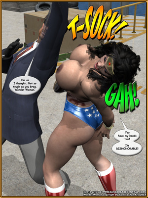 3D Porn Comics Bondage WW vs ArmDealers- Wonder Woman Porn Comic 20