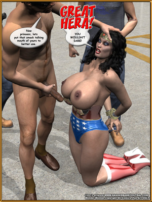 3D Porn Comics Bondage WW vs ArmDealers- Wonder Woman Porn Comic 26