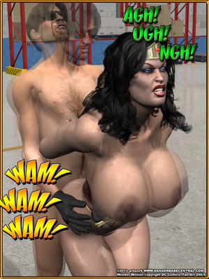 3D Porn Comics Bondage WW vs ArmDealers- Wonder Woman Porn Comic 32