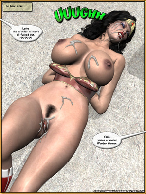 3D Porn Comics Bondage WW vs ArmDealers- Wonder Woman Porn Comic 41