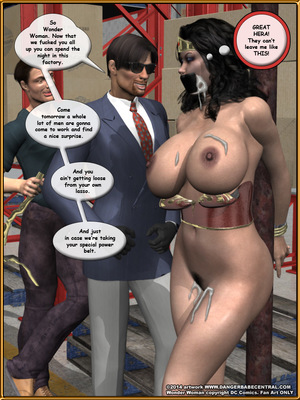 3D Porn Comics Bondage WW vs ArmDealers- Wonder Woman Porn Comic 42