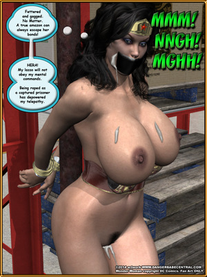 3D Porn Comics Bondage WW vs ArmDealers- Wonder Woman Porn Comic 43