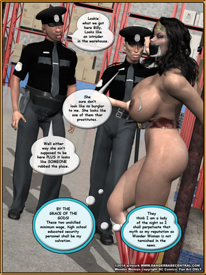 3D Porn Comics Bondage WW vs ArmDealers- Wonder Woman Porn Comic 44