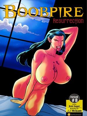 Porn Comics - Boobpire Resurrection 8 free Porn Comic