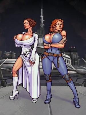 Porn Comics - Boobsgames- Leia and Mara (Star Wars) free Porn Comic