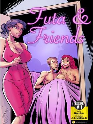 Adult Comics Bot- Futa & Friends Issue #1 Porn Comic 01