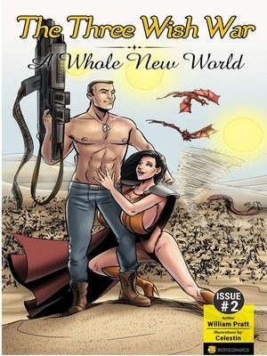 Porn Comics - Bot- The Three Wish War Issue 02 free Porn Comic