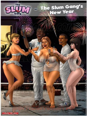 Porn Comics - The Slum Gang Chapter 05 – ( The Slum Gang's New Year ) Porn Comic