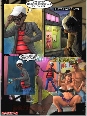 Incest Comics Brazilian Slumdogs- Erotic Chair Dance Porn Comic 03
