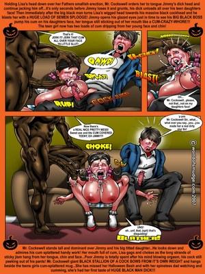 Interracial Comics Brenda- Halloween Special-Smudge Porn Comic 10