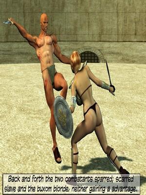 3D Porn Comics Britney Smear's in Gladiatrix Slut Porn Comic 03