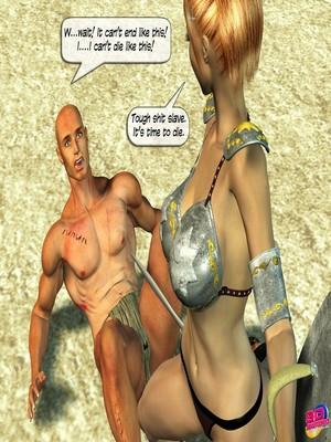 3D Porn Comics Britney Smear's in Gladiatrix Slut Porn Comic 06
