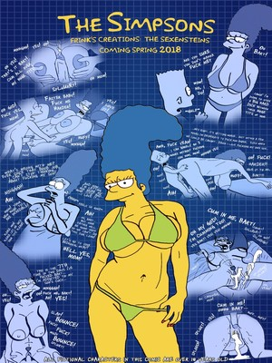 Porn Comics - Brompolos- The Simpsons are The Sexenteins free Porn Comic