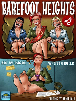 Porn Comics - Cagri- Barefoot Heights 2 free Porn Comic