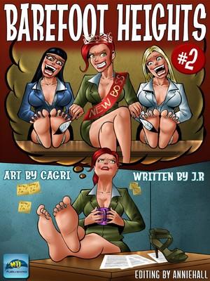 Porn Comics - Cagri- Barefoot Heights 2 free Porn Comic