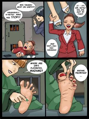 Adult Comics [Cagri] Tickle – Torture Academy 3 Porn Comic 02