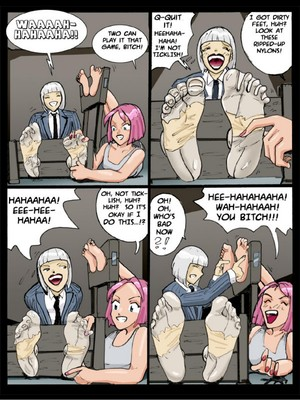 Adult Comics [Cagri] Tickle – Torture Academy 3 Porn Comic 10