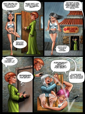Adult Comics [Cagri] Tickle – Torture Academy 4 Porn Comic 04