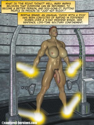 3D Porn Comics Captured Heroines- Good Intentions Porn Comic 02