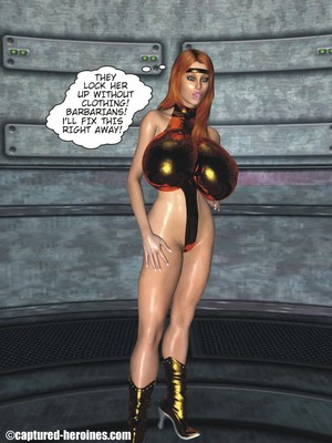3D Porn Comics Captured Heroines- Good Intentions Porn Comic 03