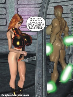 3D Porn Comics Captured Heroines- Good Intentions Porn Comic 05