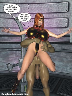 3D Porn Comics Captured Heroines- Good Intentions Porn Comic 07
