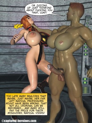 3D Porn Comics Captured Heroines- Good Intentions Porn Comic 09