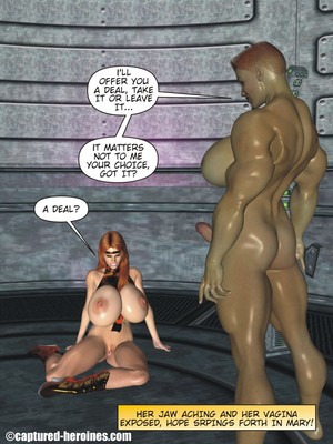 3D Porn Comics Captured Heroines- Good Intentions Porn Comic 13