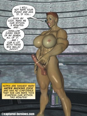 3D Porn Comics Captured Heroines- Good Intentions Porn Comic 14
