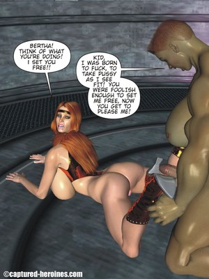 3D Porn Comics Captured Heroines- Good Intentions Porn Comic 18