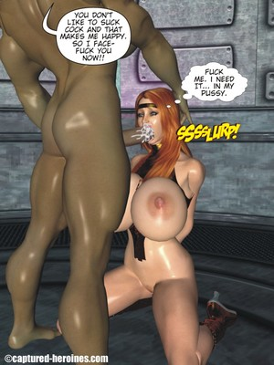 3D Porn Comics Captured Heroines- Good Intentions Porn Comic 27