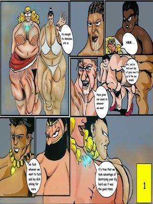 Carter Tyron- Shemale Interracial Big Dick Raw free Porn Comic sex 04