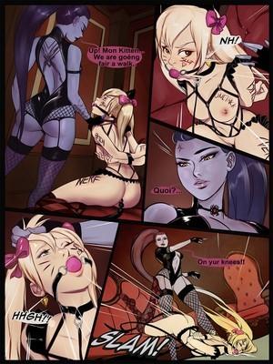 Porncomics Cherry-Gig- Overwatch BdsmMaker Porn Comic 02
