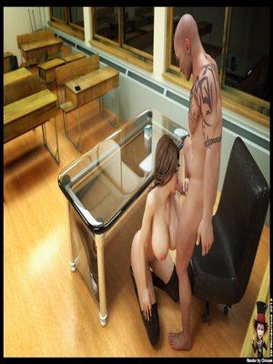 3D Porn Comics Chinsen- Detention- [3D Wonderland] Porn Comic 20