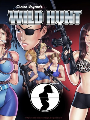 Adult Comics Claire Voyant- The Wild Hunt Porn Comic 01