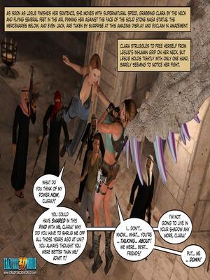 3D Porn Comics Clara Ravens 3- In The Past Porn Comic 104