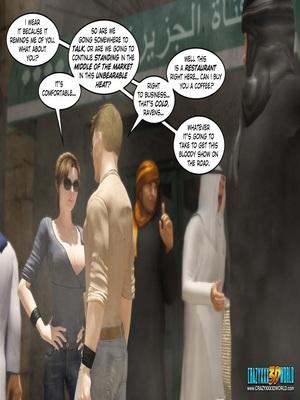 3D Porn Comics Clara Ravens 3- In The Past Porn Comic 12