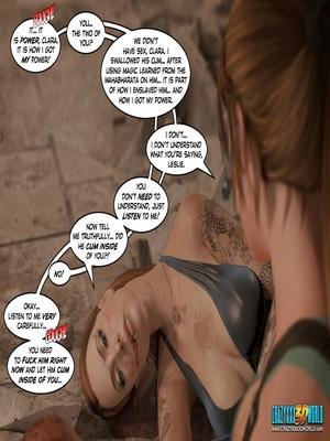 3D Porn Comics Clara Ravens 3- In The Past Porn Comic 138