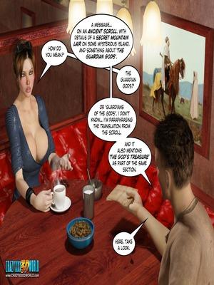 3D Porn Comics Clara Ravens 3- In The Past Porn Comic 16