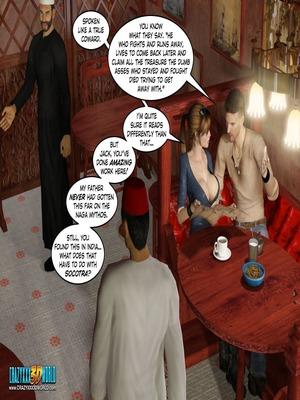 3D Porn Comics Clara Ravens 3- In The Past Porn Comic 20