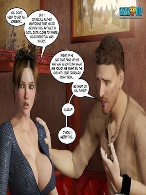 3D Porn Comics Clara Ravens 3- In The Past Porn Comic 25